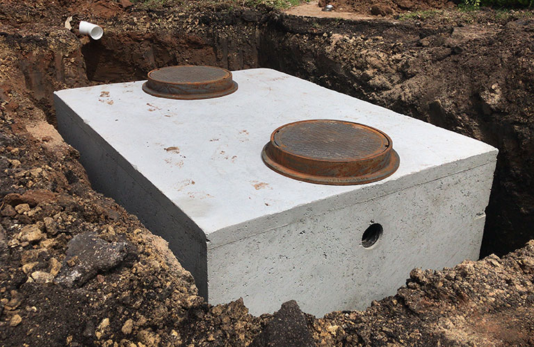 In-ground Grease Trap