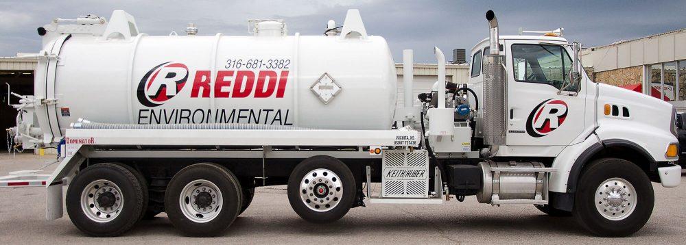 Reddi Pumping Truck