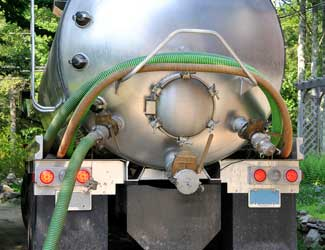 Waste Disposal Pumping Truck